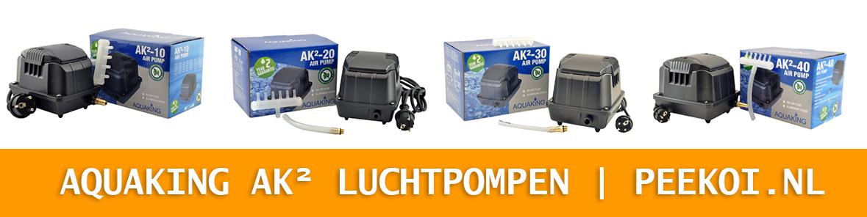Aquaking AK² Luchtpompen