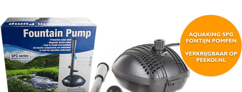 Aquaking SPG Fontijnpomp kopen