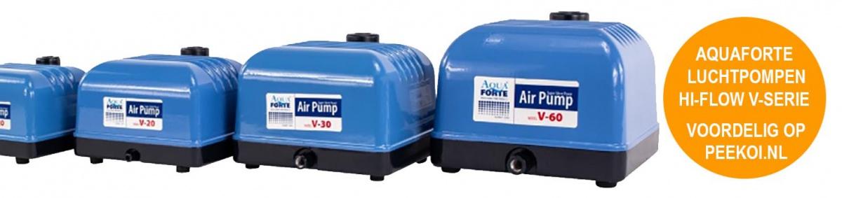 Aquaforte luchtpomp V-Serie