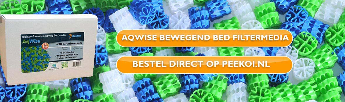 Aqwise Bewegend Bed Filtermedium