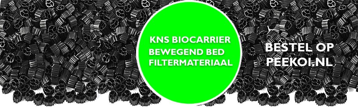 KNS Biocarrier KNS bewegendbed filtermateriaal zwart