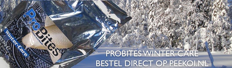 Probites Winter Care Bestellen? Het Wintervoer voor koi !