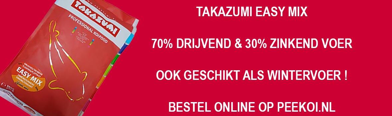 Takazumi Easy Mix | Wintervoer Takazumi Drijvend en Zinkend Koivoer
