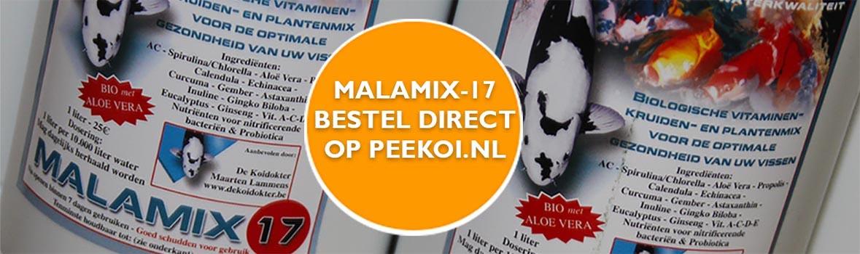 Malamix 17 bestellen koidokter Maarten Lammens