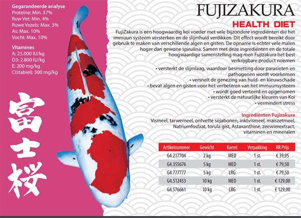Fujizakura | Health Diet | JPD Koivoer
