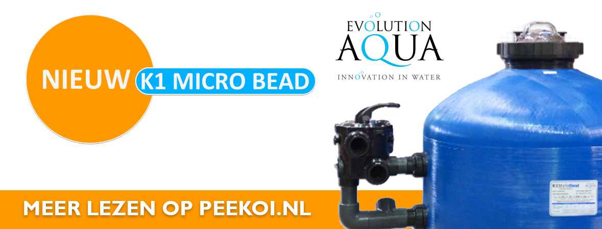 Evolution Aqua K1 Micro Bead Filter